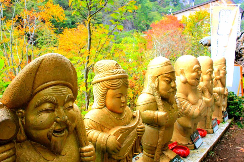 【昇仙峡】七福神