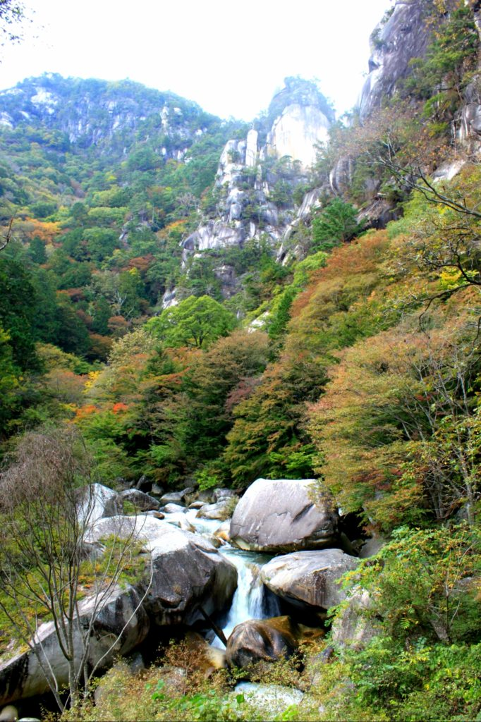 昇仙峡 パワースポット円覚峰