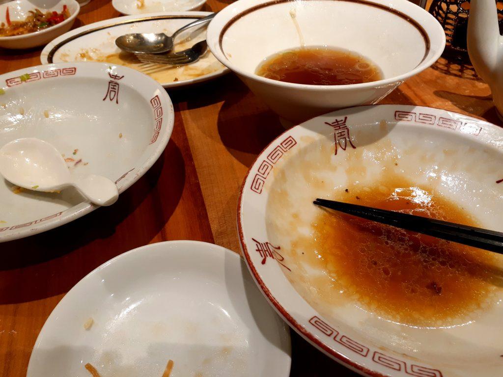 沼津 中華料理「華味」 おすすめ料理 完食