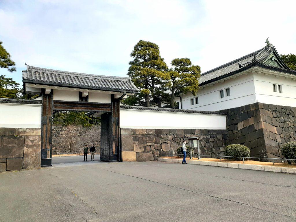 皇居ラン 桜田門