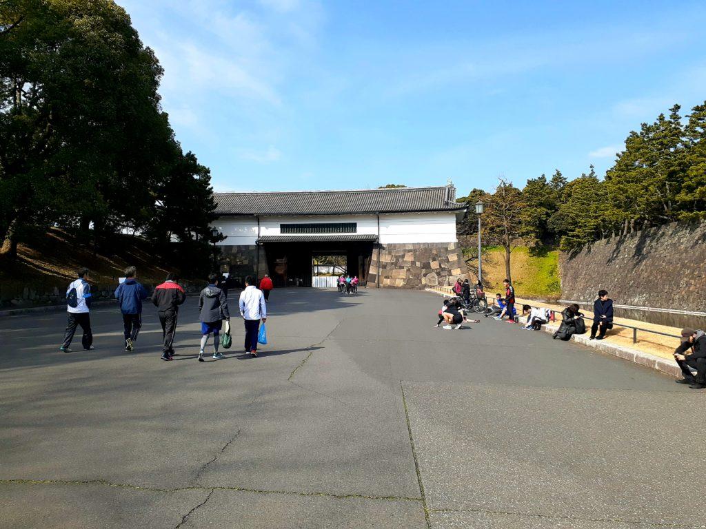 皇居ラン 桜田門の広場 集合場所