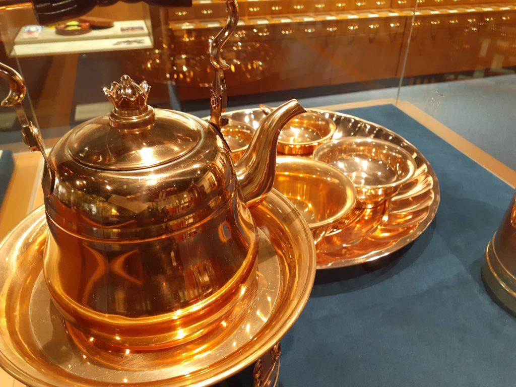 ふじのくに茶の都ミュージアムの展示品