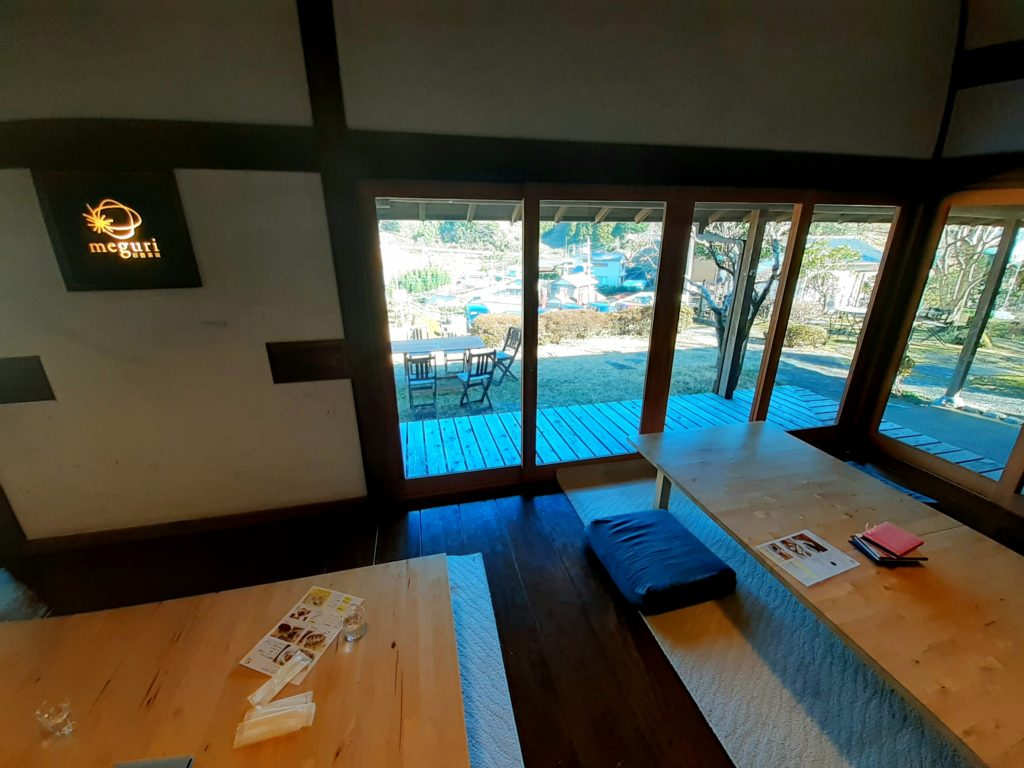 石畳茶屋meguri座敷 旧東海道のカフェ