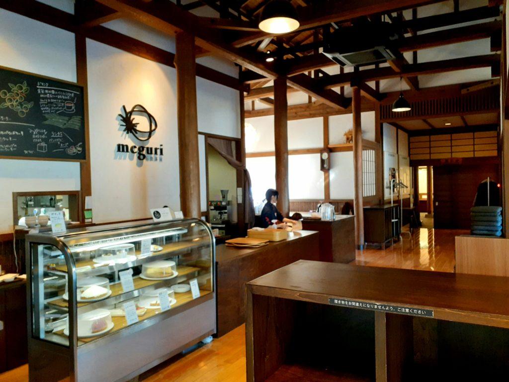 金谷坂のカフェmeguri