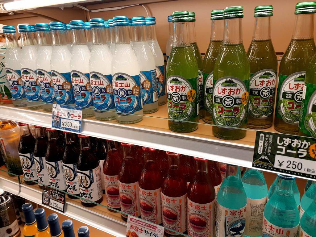 ふじのくに茶の都ミュージアムのお土産の静岡コーラ