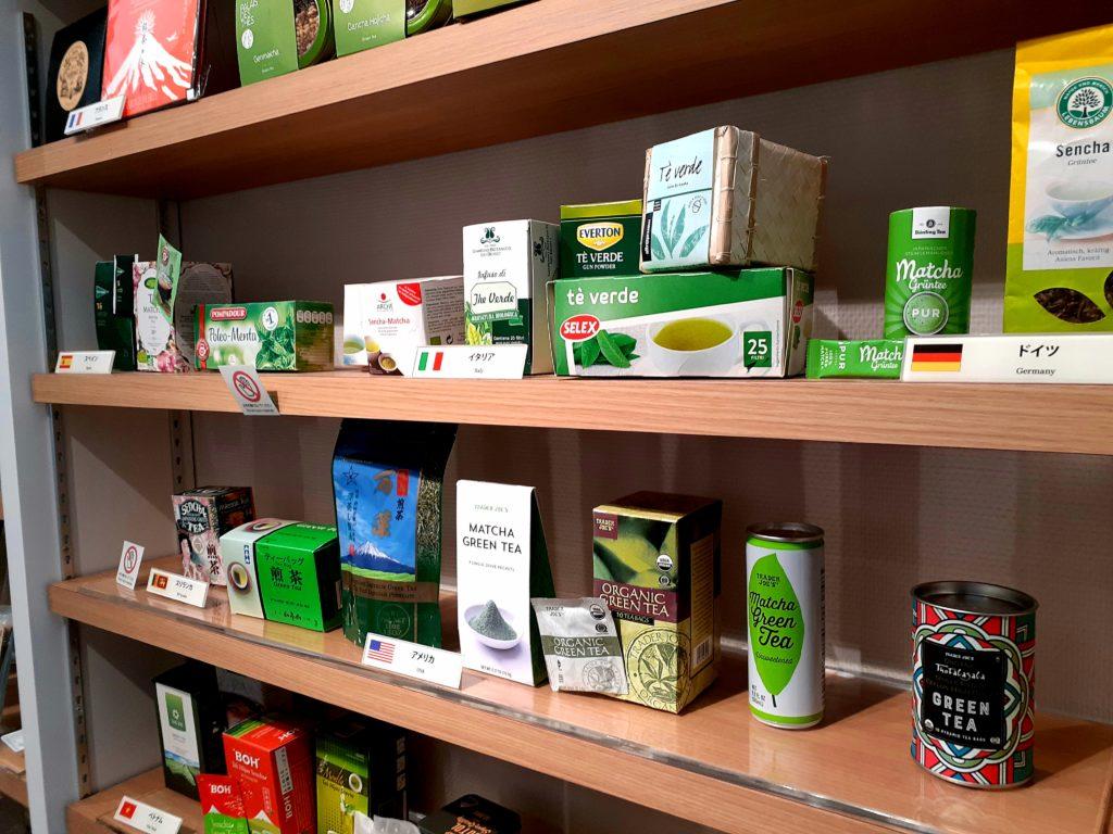 ふじのくに茶の都ミュージアムの海外の製品紹介