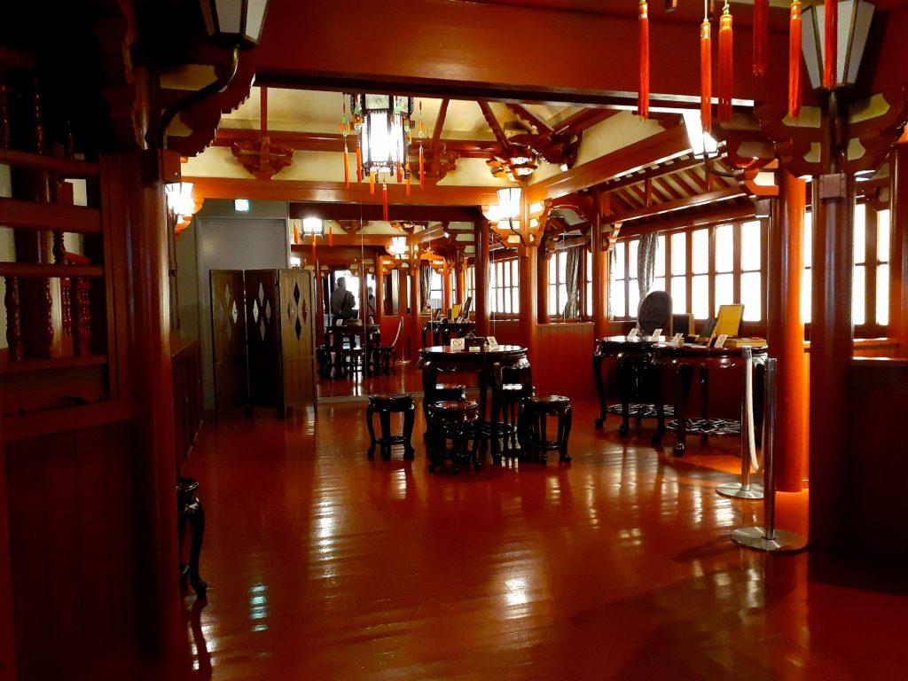 ふじのくに茶の都ミュージアムの喫茶店