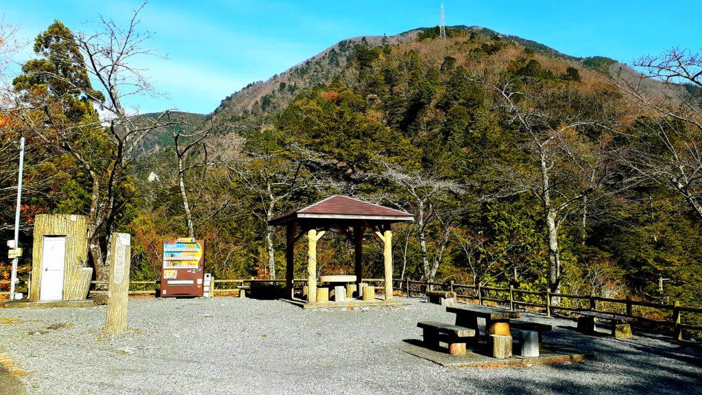 静岡の寸又峡温泉 夢の吊り橋 ハイキングコース 展望台