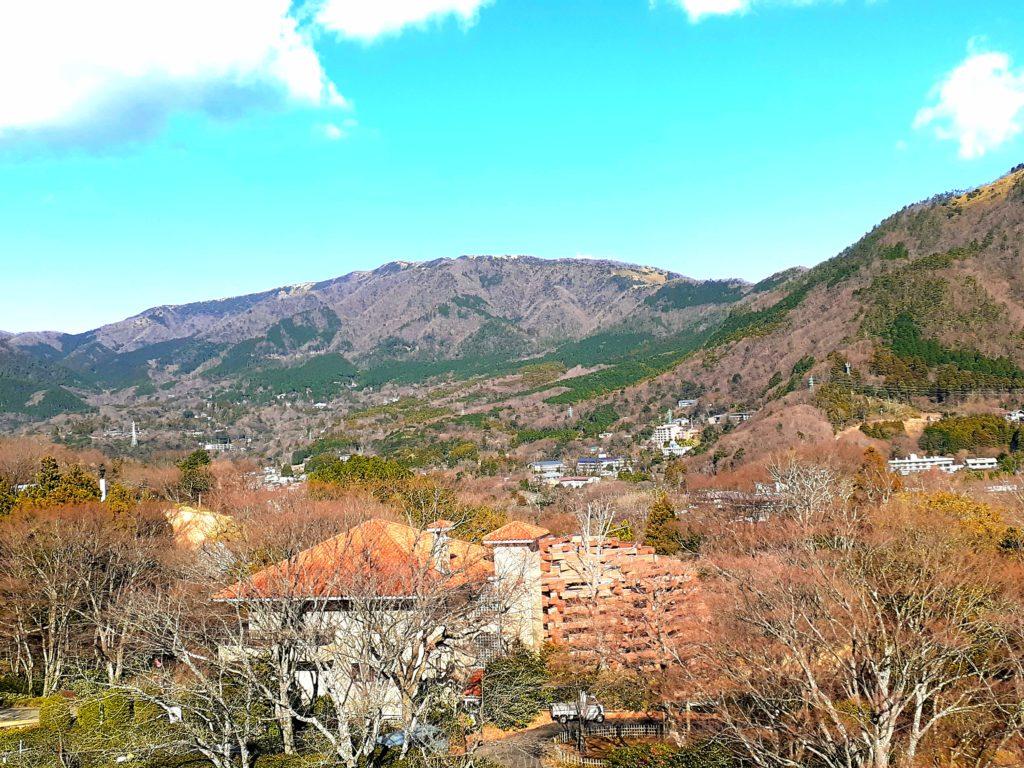箱根彫刻の森美術館 幸せを呼ぶシンフォニー 頂上
