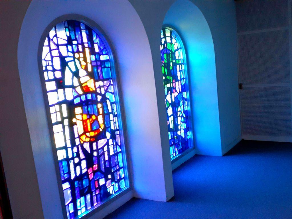 箱根彫刻の森美術館 ステンドグラス