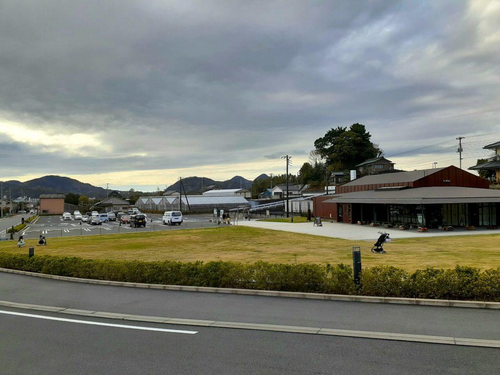 韮山反射炉の駐車場