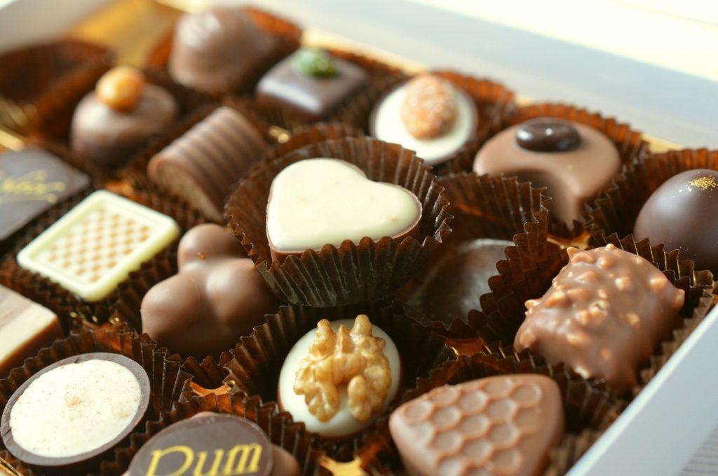 疲れた体にチョコレート 甘い物