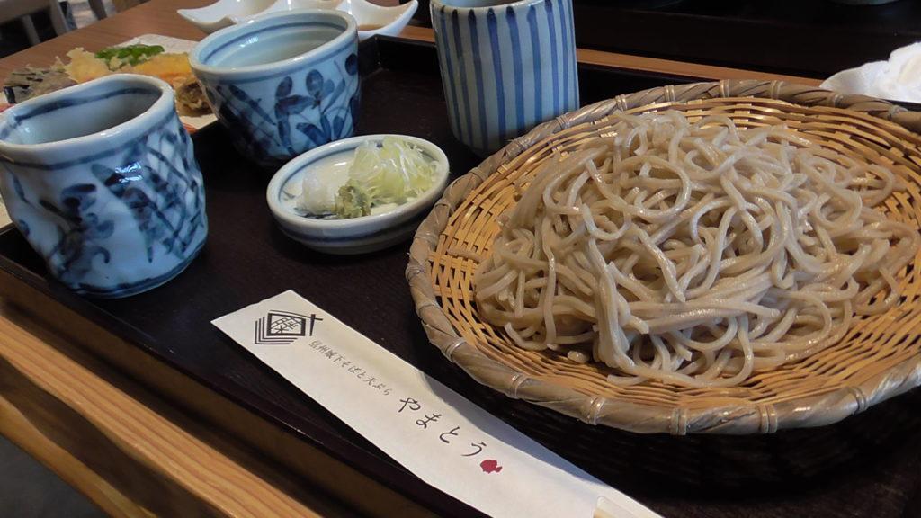 信州城下そばと天ぷら 「やまとう」実食! ざるそば