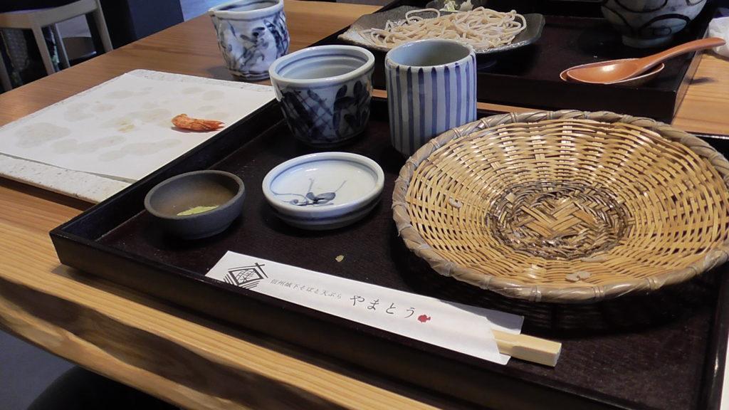 信州城下そばと天ぷら 「やまとう」実食! 完食