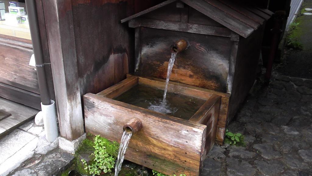 奈良井宿 水場