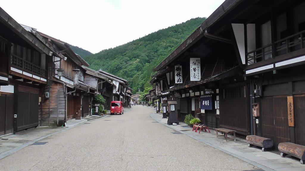 奈良井宿 日本一長い宿場町
