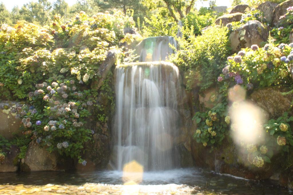 花の都公園 清流の里の滝