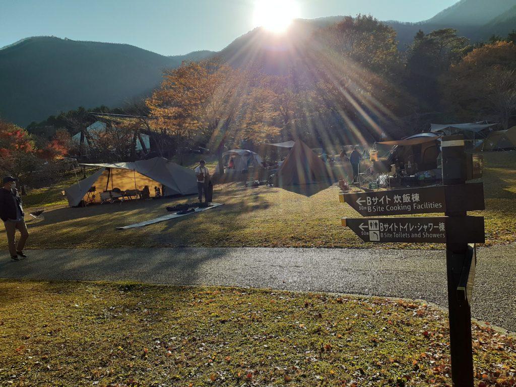 田貫湖キャンプ Bサイトの紹介