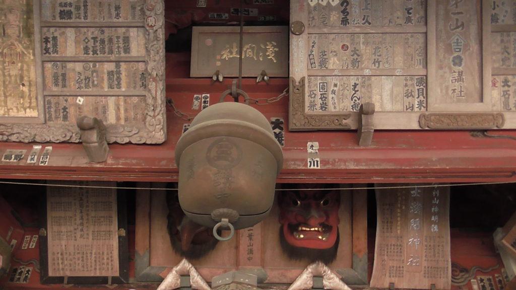 北口本宮冨士浅間神社 拝殿 お参り