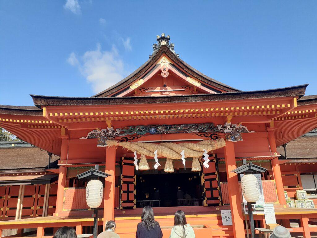 富士宮浅間神社 お参り