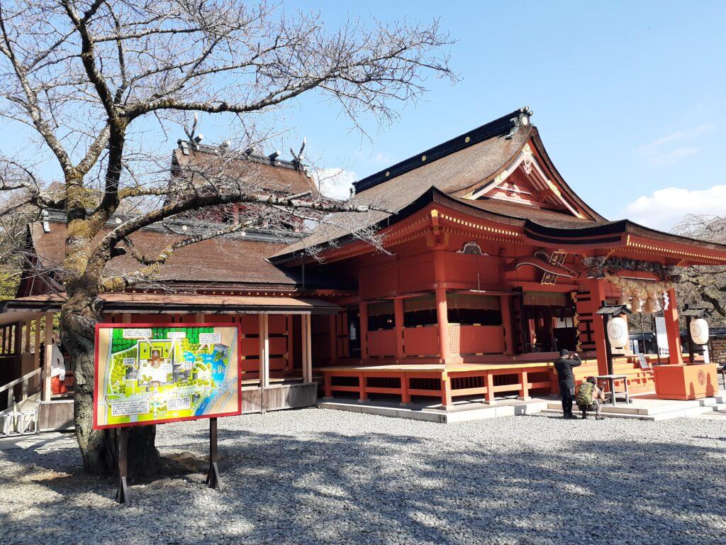 富士宮本宮浅間大社 拝殿