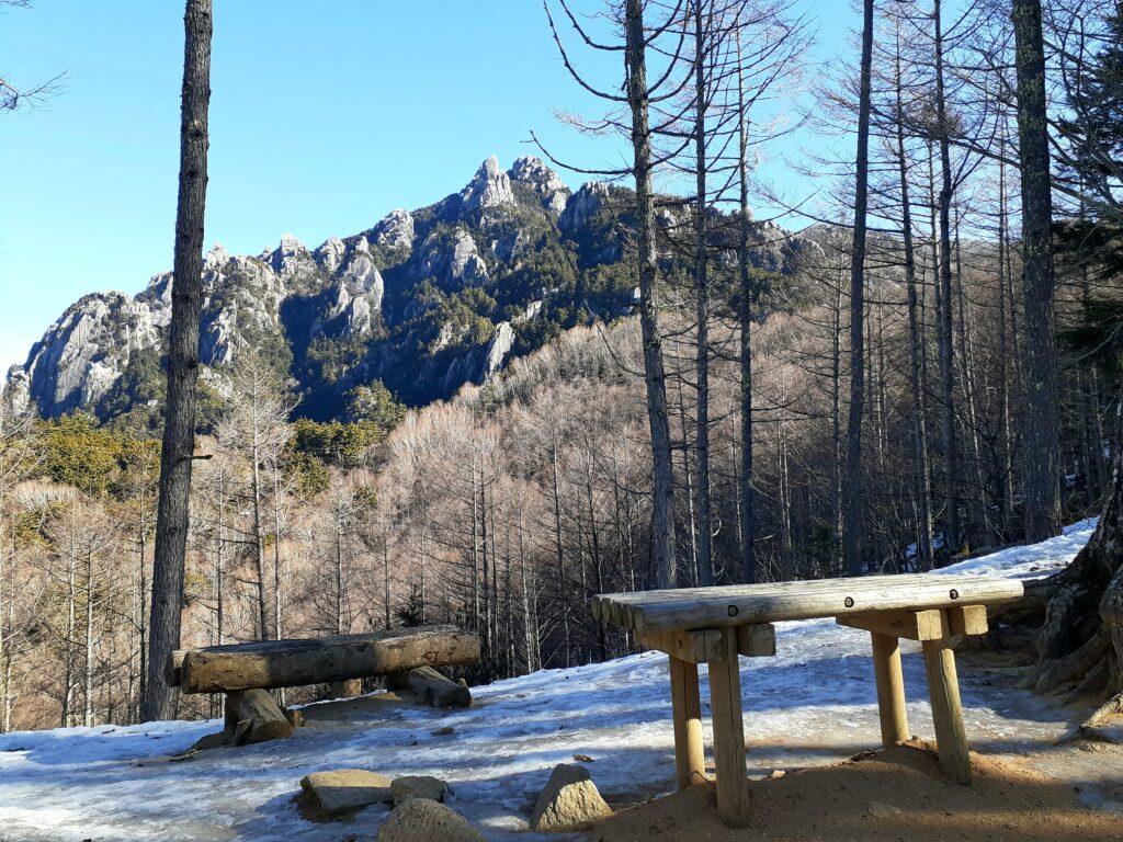 瑞牆山は初心者でも登れる日帰り登山 瑞牆山を望めるスポット