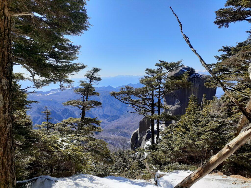 瑞牆山は初心者でも登れる日帰り登山 南アルプスの眺望