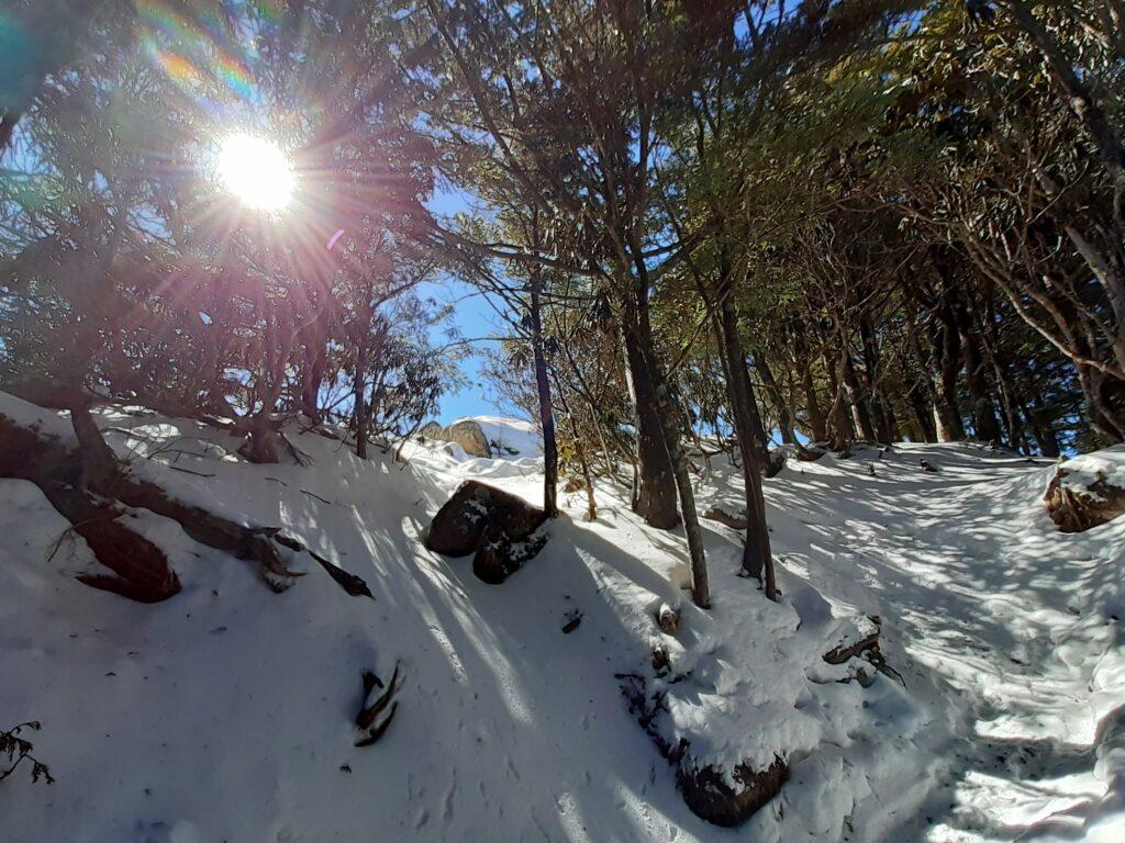 瑞牆山は初心者でも登れる日帰り登山 もうすぐ頂上