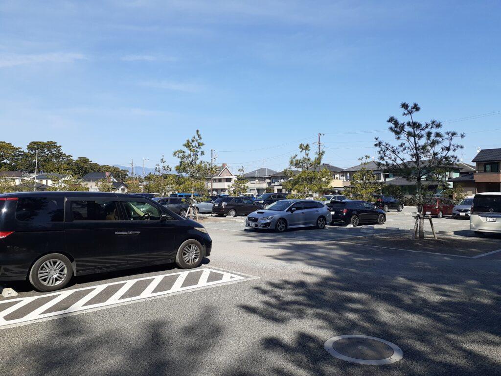 三保の松原 駐車場 愛犬と一緒に静岡旅行
