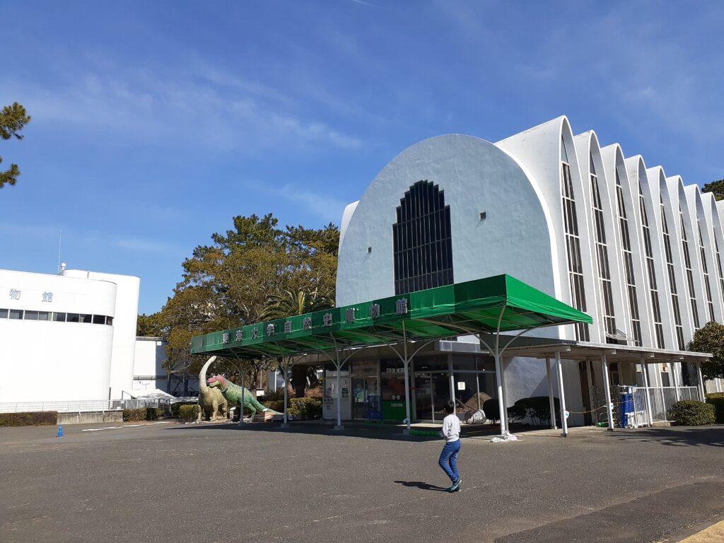 東海大学自然史博物館の入り口