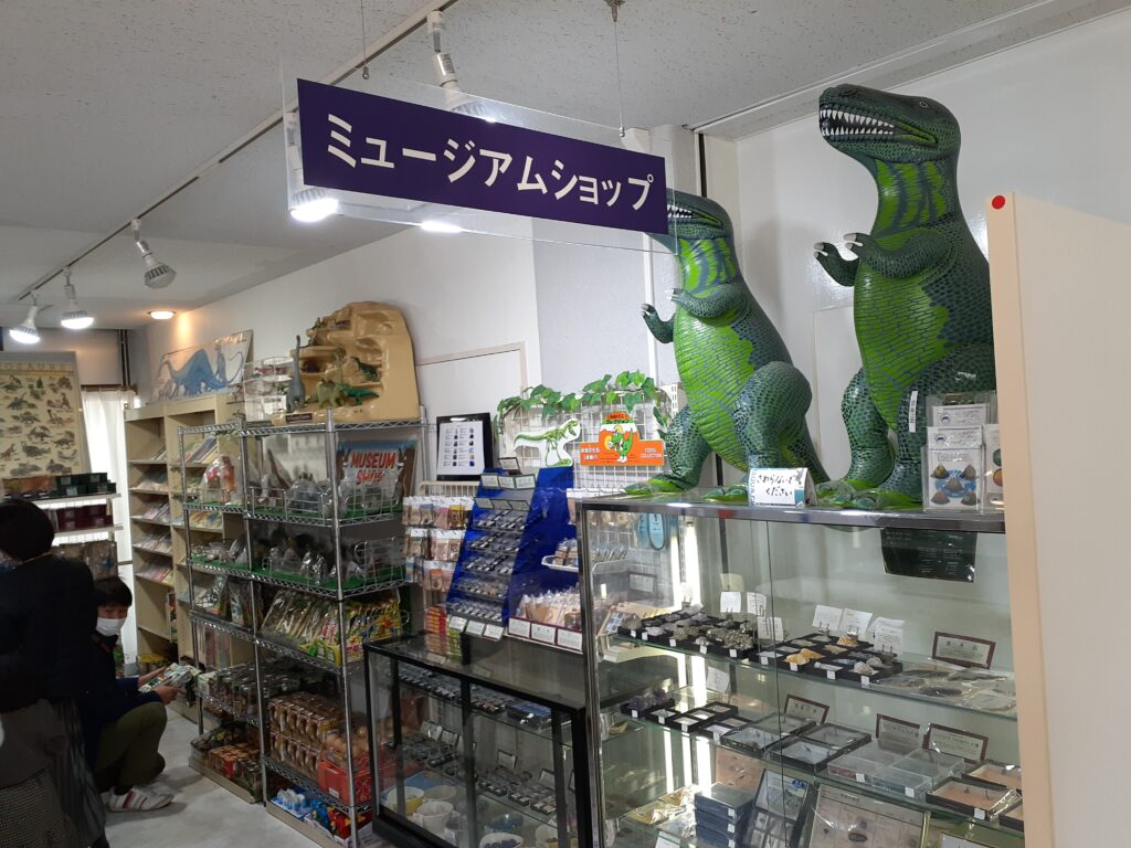 東海大学自然史博物館の恐竜のお土産