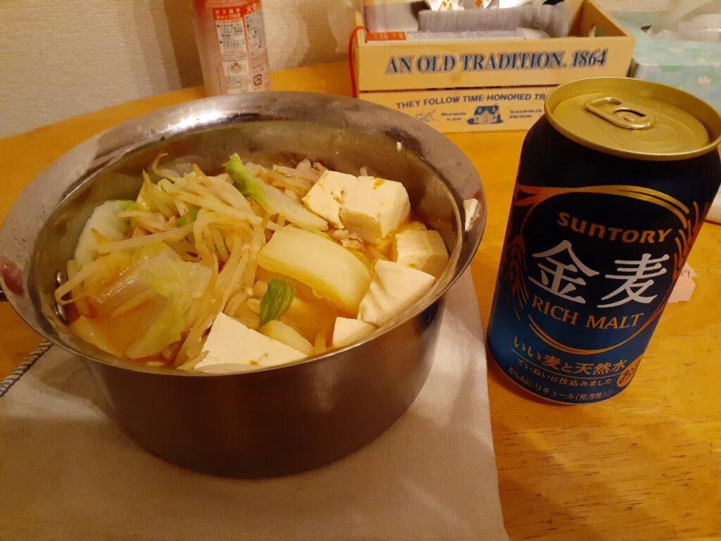 単身赴任のご飯「鍋料理」